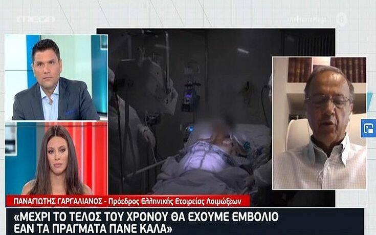 Γαργαλιάνος: Οι Έλληνες θα εμβολιαστούν πιθανότατα το πρώτο τρίμηνο του 2021