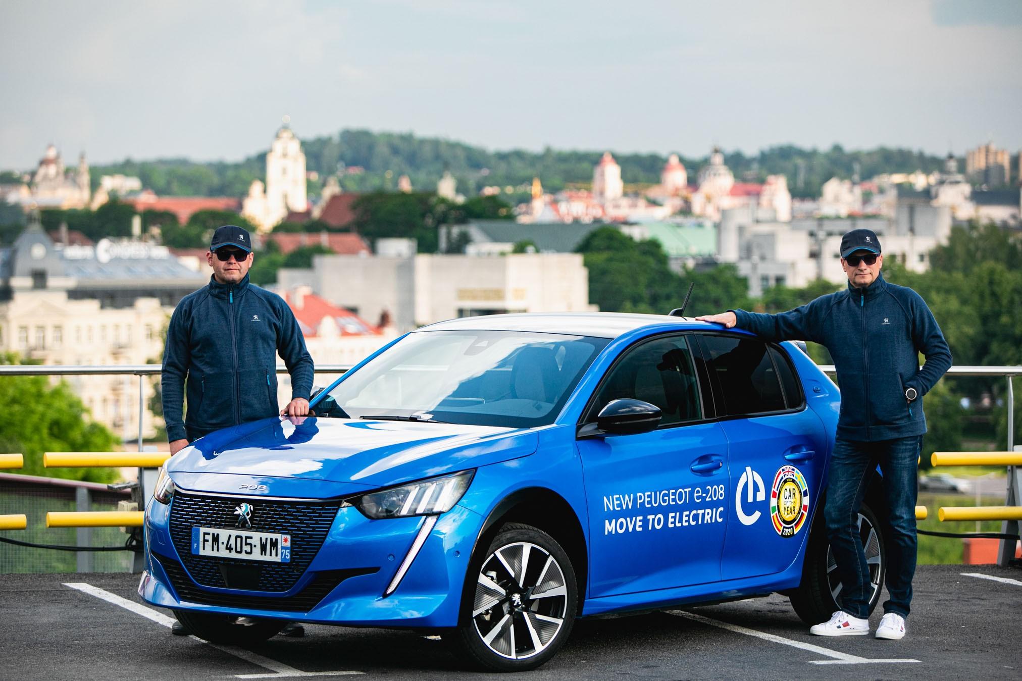 Peugeot e-208: το γρηγορότερο ηλεκτρικό αυτοκίνητο στην κατηγορία του σε αγώνα 300χλμ!