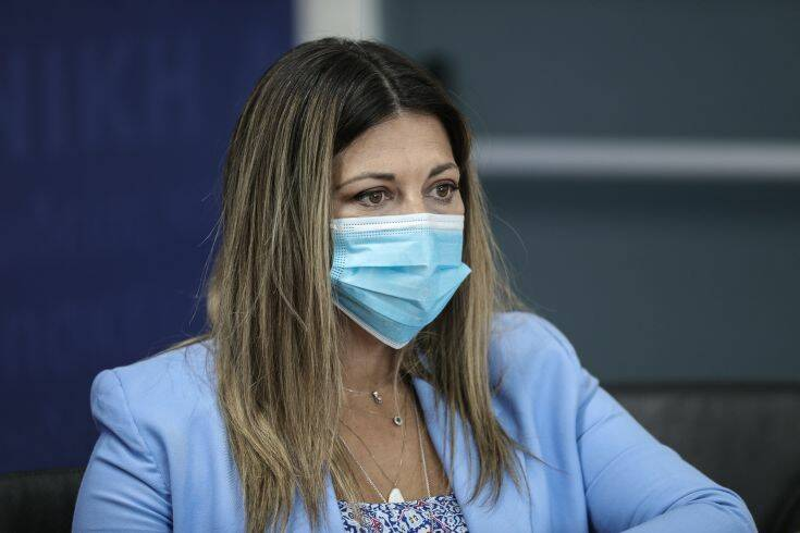 Ζαχαράκη: Θέλουμε τα παιδιά μας υγιή και προστατευμένα σε όλη την Ελλάδα, σε όποιο σχολείο κι αν πάνε