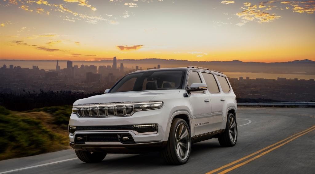 Δείτε πως θα είναι το νέο Jeep Grand Wagoneer Concept