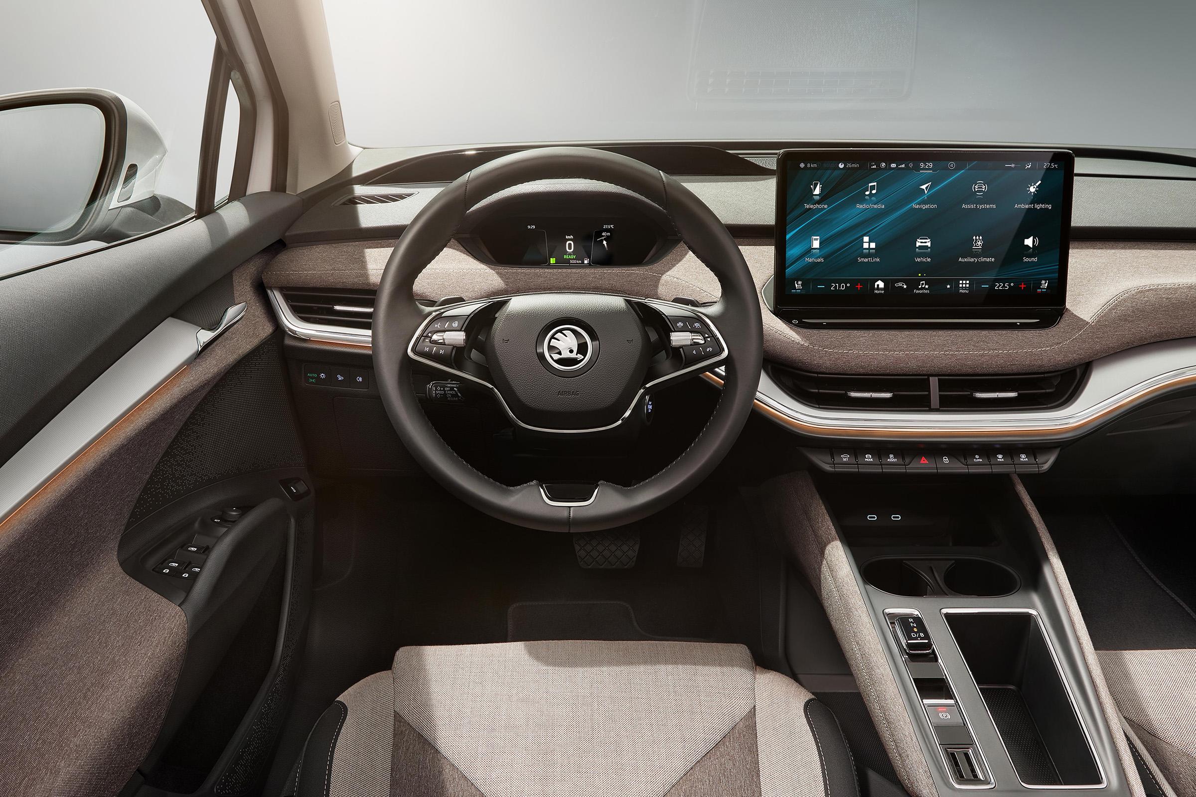 SKODA ENYAQ iV: Παγκόσμια πρεμιέρα για το ENYAQ iV το πρώτο ηλεκτρικό SUV της SKODA