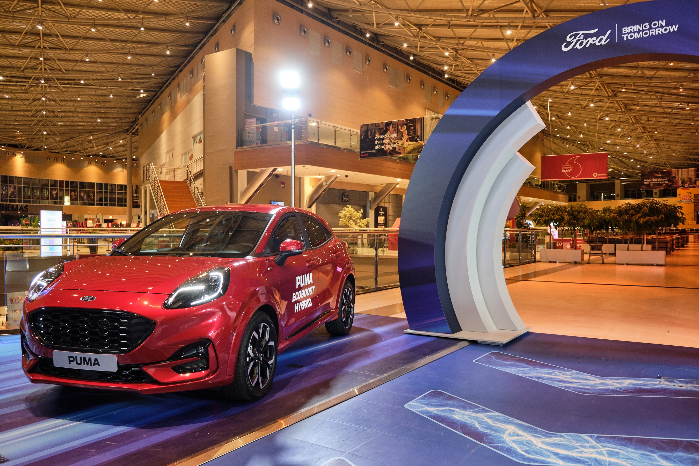 H Ford στην υπερσύγχρονη έκθεσή της στο The Mall Athens