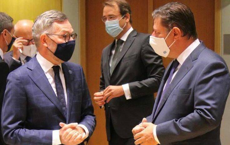 Στις Βρυξέλλες ο Βαρβιτσιώτης: «Απέναντι στις προκλήσεις η Ευρώπη πρέπει να είναι ενωμένη»