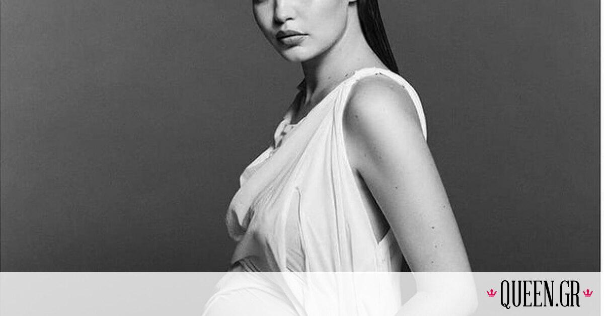 Pregnancy Portraits: To «wet dress» της Gigi Hadid το έχει σχεδιάσει Ελληνίδα fashion designer