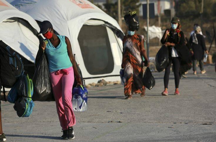 Μεταφορά 700 προσφύγων από το Καρά Τεπέ σε άλλες δομές