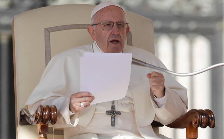 Πάπας Φραγκίσκος: Οι φτωχοί θα πρέπει να πάρουν πρώτοι το εμβόλιο κατά της Covid-19