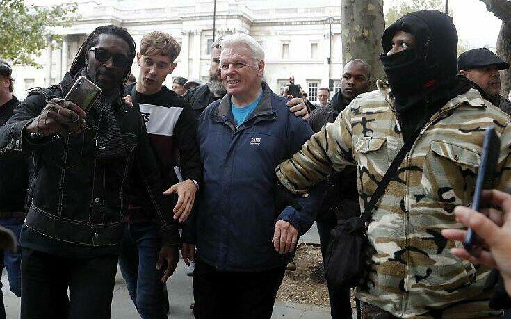 Λονδίνο: Eπεισόδια και ξύλο σε συγκέντρωση κατά του lockdown