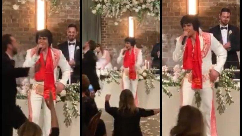 Το είδαμε κι αυτό: Ο Έλβις Πρίσλεϊ τραγουδάει Βασίλη Καρρά σε γάμο στην Αυστραλία