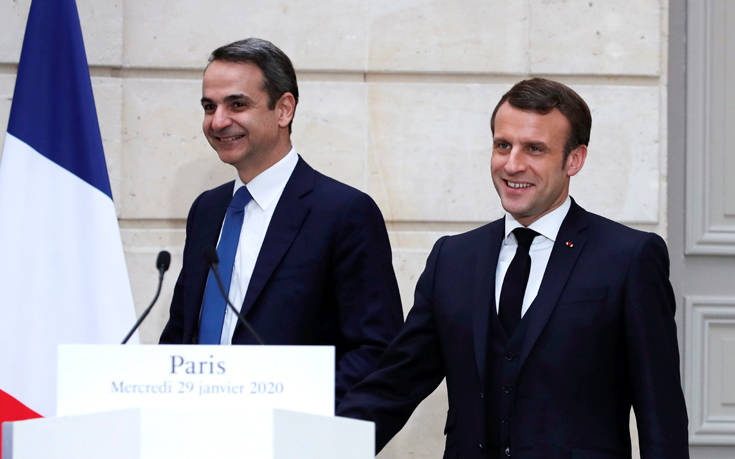 Ελλάς – Γαλλία- αμυντική συμμαχία: Κλείδωσε το ραντεβού Μητσοτάκη – Μακρόν