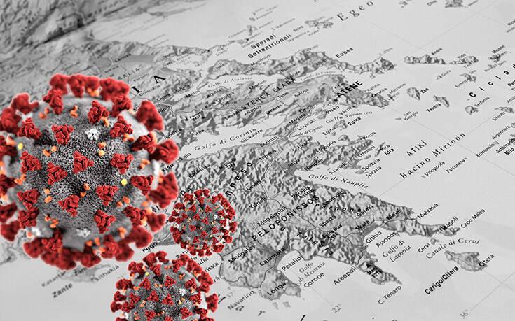 Οι περιοχές που εντοπίστηκαν τα σημερινά κρούσματα του κορονοϊού – Τα 212 είναι στην Αττική