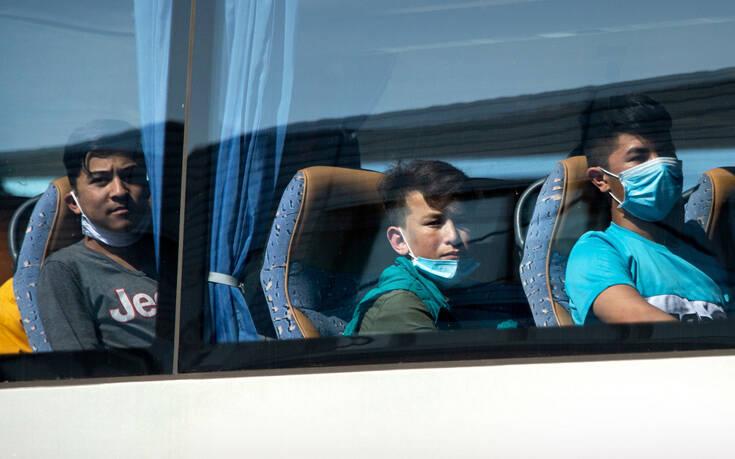 Αναχώρησαν για τη Γαλλία 169 αιτούντες άσυλο