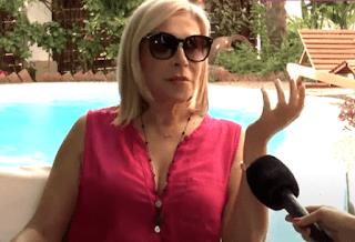 Η απάντηση της Έφης Σαρρή στον Λάκη Γαβαλά, που την παρομοίασε με την Ευρυδίκη Παπαδοπούλου (video)