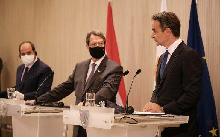 Προειδοποίηση Αλ Σίσι σε Μητσοτάκη κι Αναστασιάδη: Προσέξτε τα «παιχνίδια» του Ερντογάν με τους τζιχαντιστές