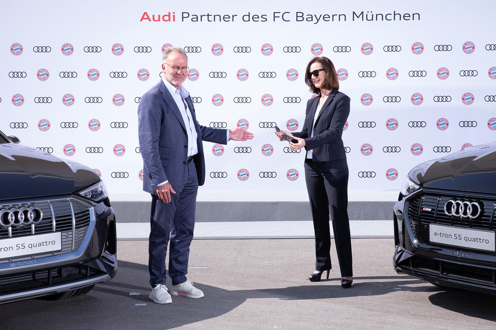 Οι νικητές του Champions League 2019-2020 οδηγούν Audi e-tron