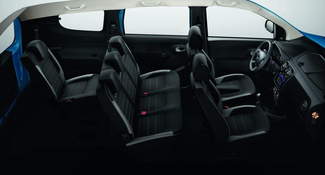 Dacia LODGY:Ένα πολυχρηστικό 7θέσιο μοντέλο με compact εξωτερικές διαστάσεις