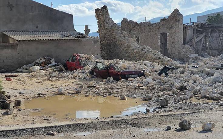 Πρώτη εκτίμηση από τις ζημιές που προκάλεσε η σεισμική δόνηση στη Σάμο, Ικαρία, Χίο από το υπ. Πολιτισμού