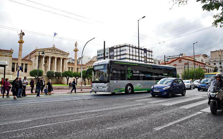 Το ηλεκτρικό λεωφορείο της Yutong ήρθε στην Ελλάδα