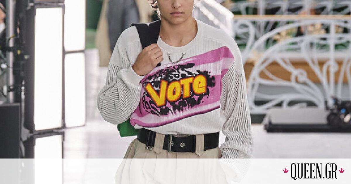 Tα παντελόνια που είδαμε στο show Louis Vuitton S/S '21 είναι ο λόγος που θέλουμε να έρθει η άνοιξη