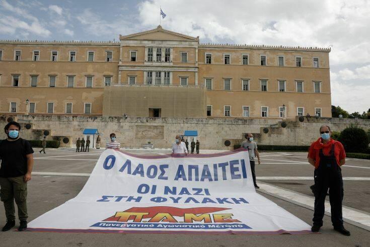 Πουλικόγιαννης: Δεν θα τελειώσουμε με τον φασισμό όσο συνεχίζεται η επίθεση στα εργατικά δικαιώματα, η καταστολή
