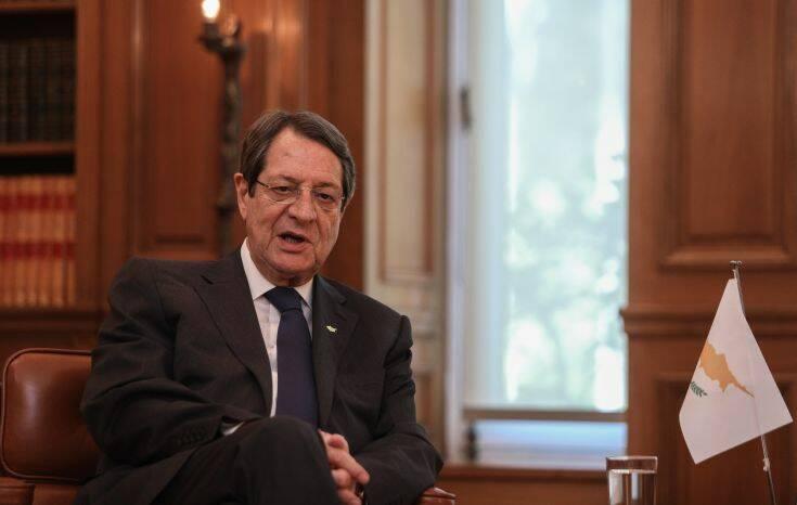 Ο Νίκος Αναστασιάδης ευχαριστεί τον Κυριάκο Μητσοτάκη για τη στήριξη στη Σύνοδο Κορυφής