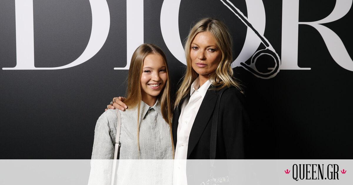 Η κόρη της Kate Moss έκανε το ντεμπούτο της στην πασαρέλα του Οίκου Miu Miu