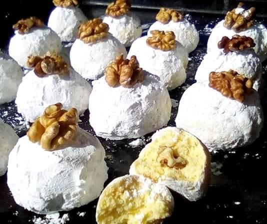 Γλυκάκια με άρωμα από λεμόνι και γέμιση !!!