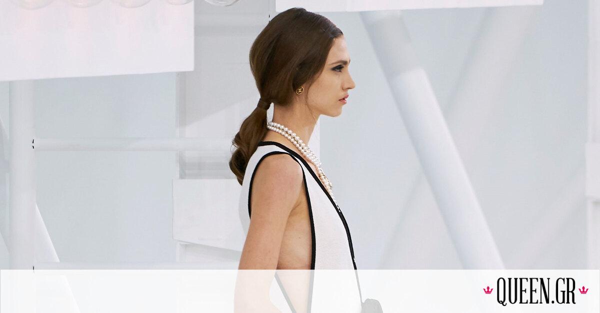 S/S 2021: Η Chanel επαναπροσδιορίζει τον τρόπο που φτιάχνουμε low ponytail