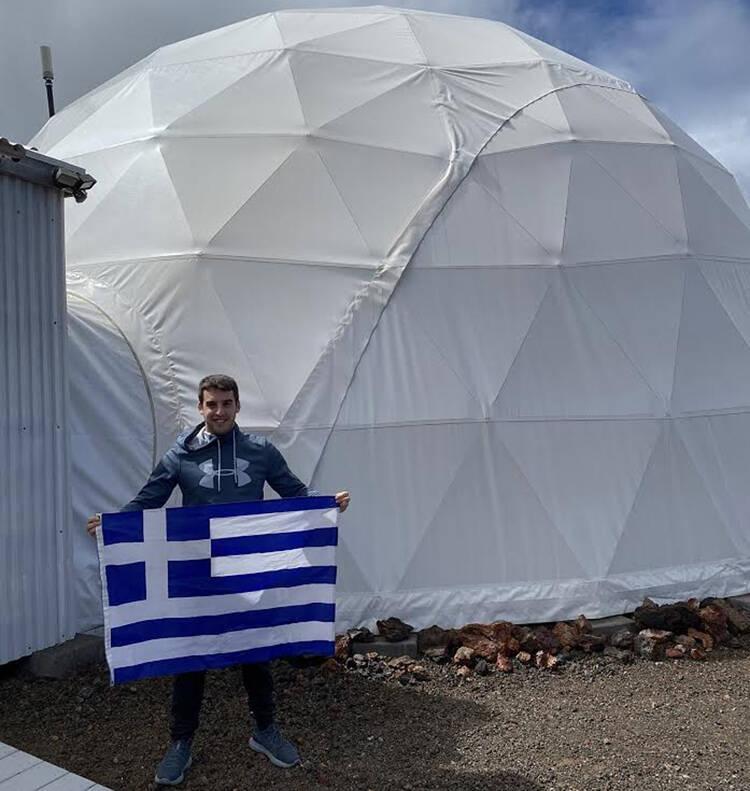 Αύγουστος Πανταζίδης: Ο 29χρονος που φιγουράρει στην ελληνική λίστα Forbes και ετοιμάζεται να γίνει αστροναύτης