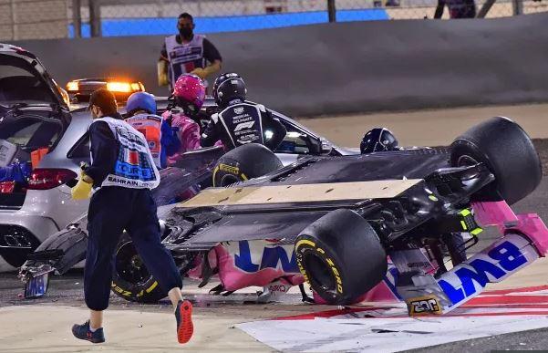 Το σοκαριστικό ατύχημα του Γκροζάν στο Γκραν Πρι του Μπαχρέιν