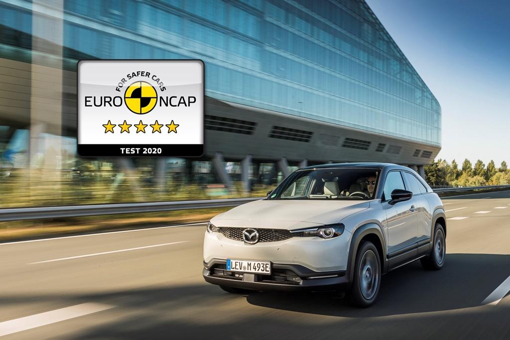 Το Mazda MX-301 με πέντε αστέρια στις δοκιμές του Euro NCAP