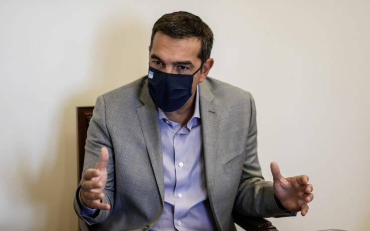 Επαφές Τσίπρα με τους αρχηγούς των κομμάτων της αντιπολίτευσης