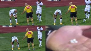 Διαιτητής μάζεψε τα…δόντια παίκτη από το χορτάρι!