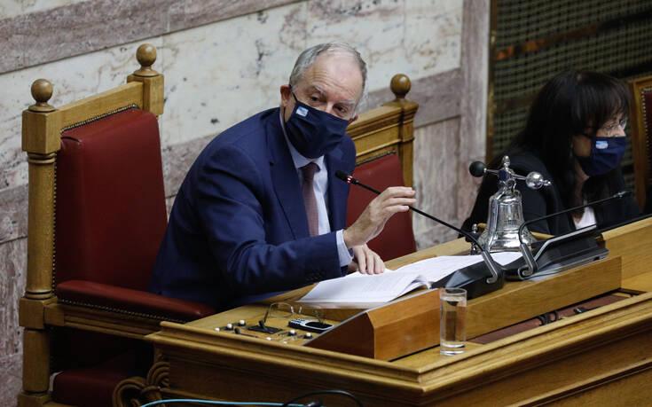 Τασούλας: Διαθέσιμες στο Σωτηρία οι 50 κλίνες ΜΕΘ που δώρισε η Βουλή