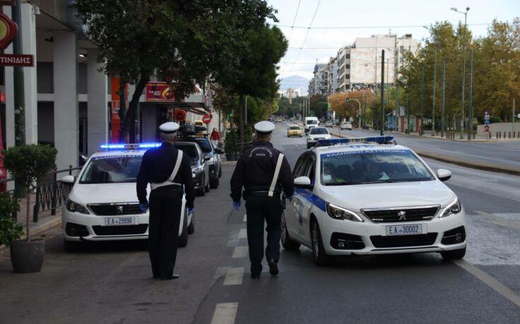 Lockdown: Πρεμιέρα με αστυνομικά μπλόκα κι αυστηρούς ελέγχους στους δρόμους