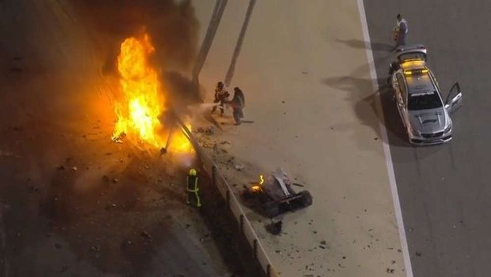 Σοκαριστικό ατύχημα στη Formula 1: Άρπαξε φωτιά το μονοθέσιο και κόπηκε στα δύο!