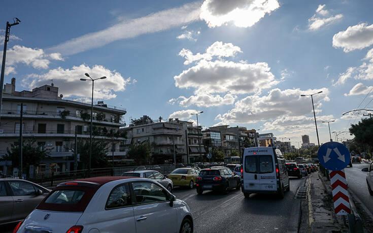 Lockdown: Αυξημένη η κίνηση στην Αττική σε σύγκριση με την πρώτη καραντίνα – Οι δρόμοι που «έπηξαν»