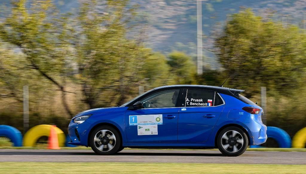 Το Opel Corsa-e κέρδισε το FIA E-Rally Regularity Cup