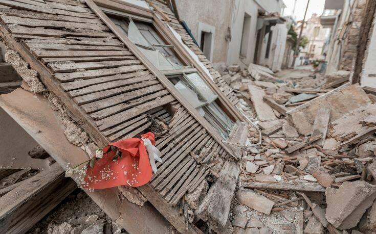 Αποστολή βοήθειας προς τους σεισμόπληκτους της Σάμου από τη Λέσβο