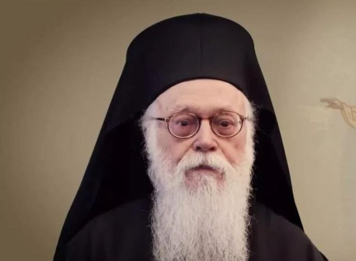Ανέβασε ξανά πυρετό ο Αρχιεπίσκοπος Αλβανίας Αναστάσιος