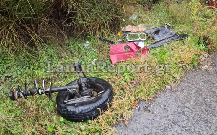 Εικόνες από τροχαίο στον Μπράλο: Αυτοκίνητο συγκρούστηκε με νταλίκα – Ένας τραυματίας