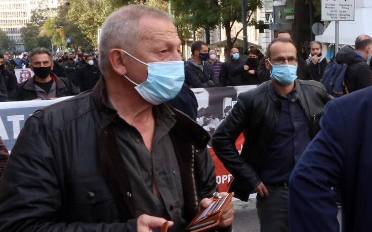 Παφίλης: Εμείς του ΚΚΕ φορούσαμε χθες όλοι μάσκα, φοβόμαστε μήπως μας κόλλησαν κορονοϊό οι αστυνομικοί