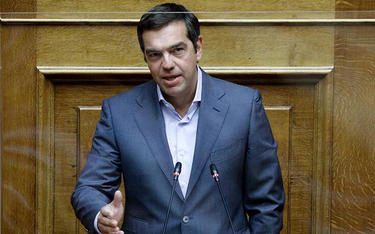 Τσίπρας: Να αποσύρει ο κ. Μητσοτάκης την προβοκατόρικη και αχρείαστη απαγόρευση συναθροίσεων
