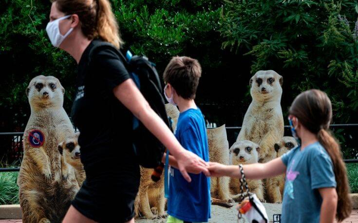 Κλείνουν λόγω κορονοϊού τα μουσεία και ο ζωολογικός κήπος της Ουάσιγκτον
