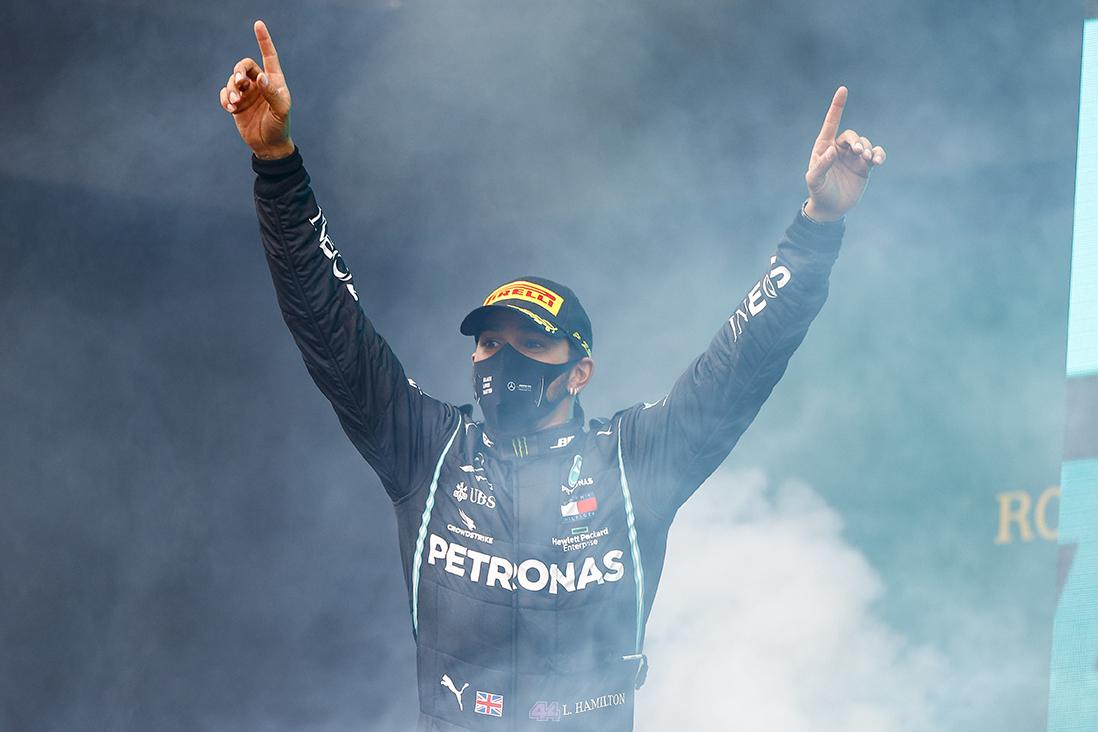 Ο HAMILTON έγραψε ιστορία-Τι ρόλο έπαιξαν οι γόμες που χρησιμοποίησαν οι οδηγοί της F1