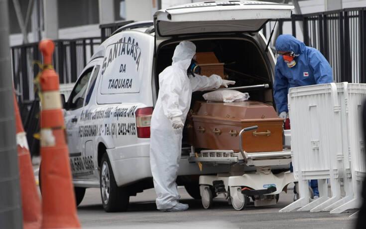 «Βράζει» η Βραζιλία: Ξεπέρασε τους 160.000 νεκρούς από κορονοϊό – Στα 5,5 εκατομμύρια τα κρούσματα