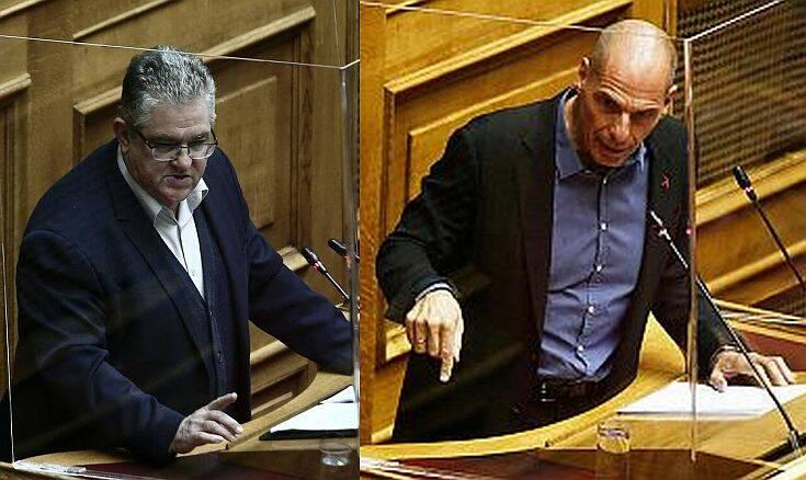 ΚΚΕ και ΜέΡΑ25 ζητούν από την κυβέρνηση να αποσύρει την απόφαση για την απαγόρευση των συγκεντρώσεων