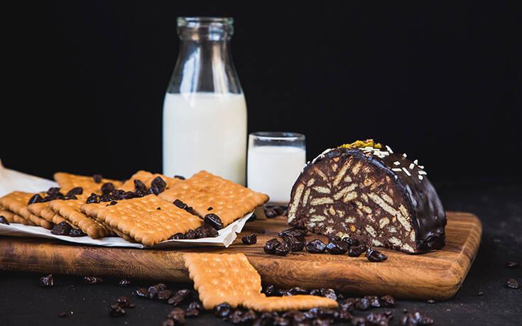 Λαχταριστός κορμός σοκολάτα