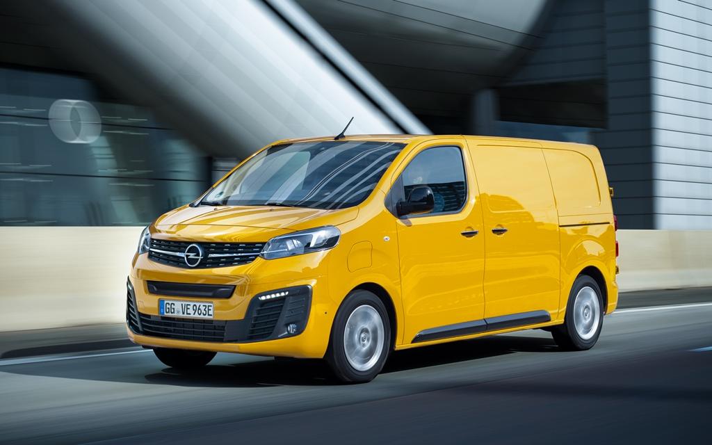 Το Νέο Opel Vivaro-e Αναδείχτηκε Διεθνές Van της Χρονιάς 2021