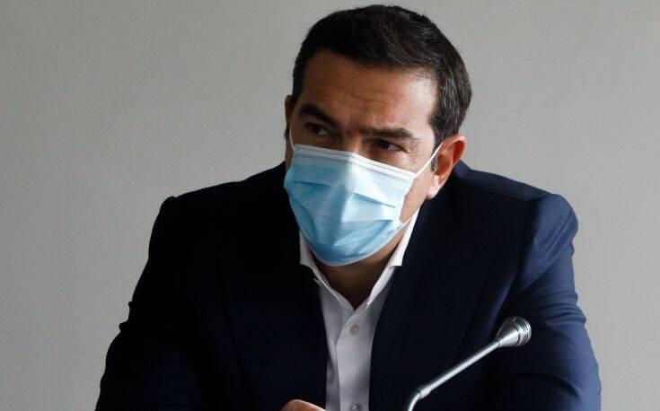 Τσίπρας: Η εγκληματική αδιαφορία των υπευθύνων οδήγησε στην έξαρση της πανδημίας στην Δυτική Αττική