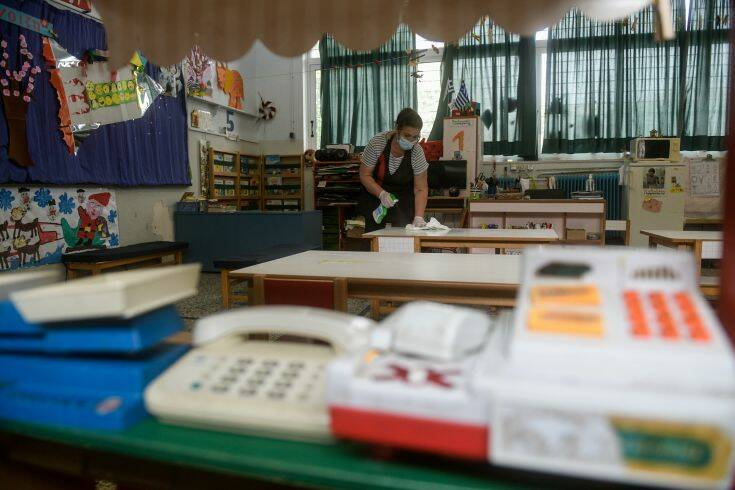 Προβληματισμούς στους ειδικούς για τα σχολεία – Πότε θα ανακοινωθεί ο σχεδιασμός για το lockdown